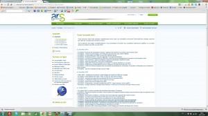 ARS-actualités 2012