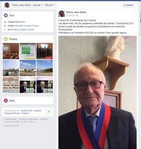 Eloge du président du CPH Forbach