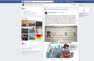 Page Facebook Pierre-Jean Didiot