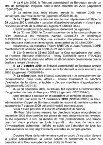 Lettre de l'inspecteur Remy Garnier