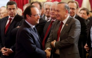 Hollande rencontre Gattaz