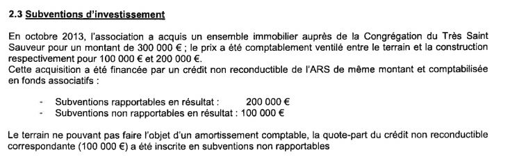 Extraits comptes Hopital Sarralbe 2015