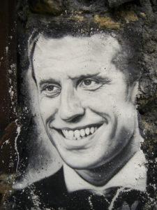 Macron portrait